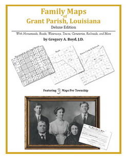 Family Maps of Grant Parish, Louisiana (Paperback)