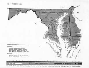Family Roots Publishing Product View - Map guide to the us federal censuses 1790 1920