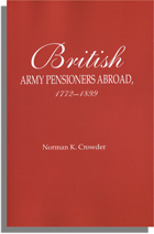 British Army Pensioners Abroad, 1772-1899
