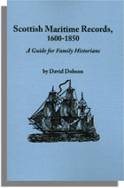 Scottish Maritime Records, 1600-1850