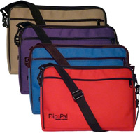 Flip-Pal Deluxe Carrying Case - Blue