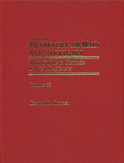 Map Guide to German Parish Registers  - Alsace Lorraine - 6 Volumes
