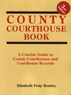 County Courthouse Book - 3rd Edition
