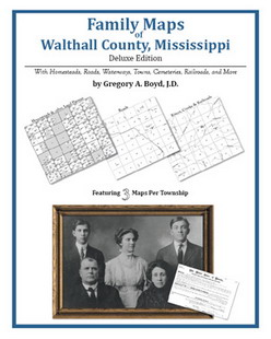 Family Maps of Walthall County, Mississippi (Paperback)