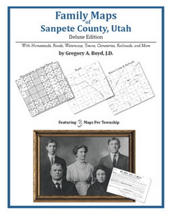 Family Maps of Sanpete County, Utah (Paperback)