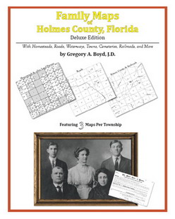 Family Maps of Holmes County, Florida (Paperback)