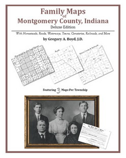 Family Maps of Montgomery County, Indiana (Paperback)