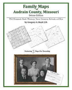 Family Maps of Audrain County, Missouri (Paperback)