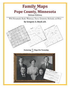 Family Maps of Pope County, Minnesota (Paperback)