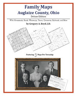 Family Maps of Auglaize County, Ohio (Paperback)