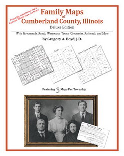 Family Maps of Cumberland County, Illinois (Paperback)