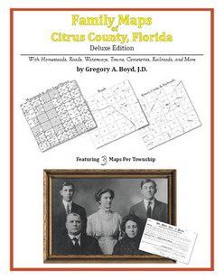 Family Maps of Citrus County, Florida (Paperback)