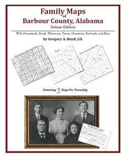 Family Maps of Barbour County, Alabama (Paperback)