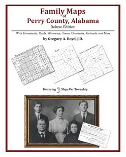 Family Maps of Perry County, Alabama (Paperback)