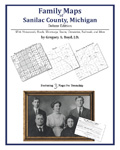 Family Maps of Sanilac County, Michigan (Paperback)
