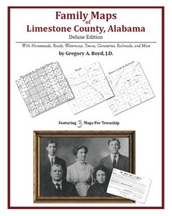 Family Maps of Limestone County, Alabama (Paperback)