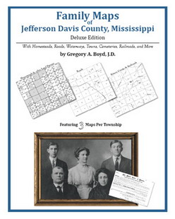 Family Maps of Jefferson Davis County, Mississippi (Paperback)