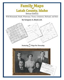 Family Maps of Latah County, Idaho (Paperback)