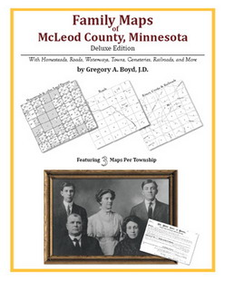 Family Maps of McLeod County, Minnesota (Paperback)