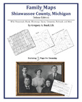 Family Maps of Shiawassee County, Michigan (Paperback)