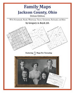 Family Maps of Jackson County, Ohio (Paperback)