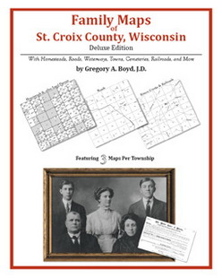 Family Maps of St. Croix County, Wisconsin (Paperback)