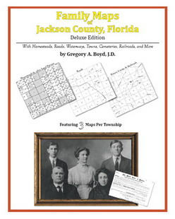 Family Maps of Jackson County, Florida (Paperback)