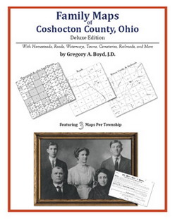 Family Maps of Coshocton County, Ohio (Paperback)