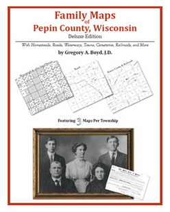 Family Maps of Pepin County, Wisconsin (Paperback)