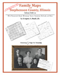 Family Maps of Stephenson County, Illinois (Paperback)