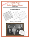 Family Maps of Saline County, Illinois (Paperback)