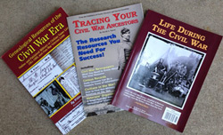 Bundle of 3 Popular Civil War Research books