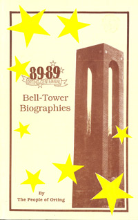 Bell-Tower Biographies 89-89 Orting Centennial