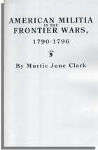 American Militia in the Frontier Wars, 1790-1796