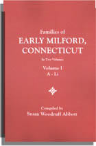 Families of Early Milford, Connecticut