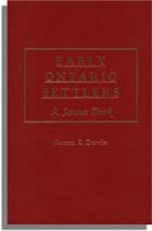 Early Ontario Settlers A Source Book