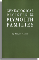 Genealogical Register of Plymouth Families, Part II of Ancient Landmarks of Plymouth