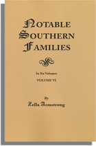 Notable Southern Families, Volume V