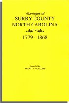 Marriages of Surry County, North Carolina 1779-1868