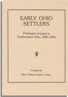 Early Ohio Settlers Purchasers of Land in Southwestern Ohio, 1800-1840