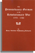 The Pennsylvania-German in the Revolutionary War, 1775-1783
