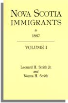 Nova Scotia Immigrants to 1867