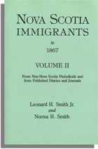 Nova Scotia Immigrants to 1867, Volume II