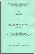 A History of Halifax County [Virginia]