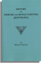 History of Mercer and Boyle Counties [Kentucky]