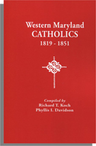 Western Maryland Catholics, 1819-1851