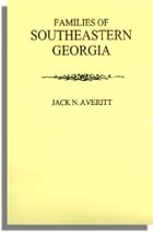 Families of Southeastern Georgia Excerpted from Georgia