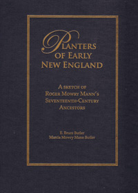 STOP - DO NOT ORDER - OUT OF PRINT - Planters of Early New England