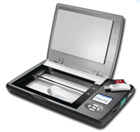 Flip-Pal mobile scanner with Flip-Pal Digital Suite Pro for PC on DVD
