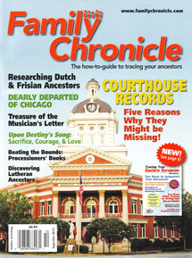 Family Chronicle; September/October 2013